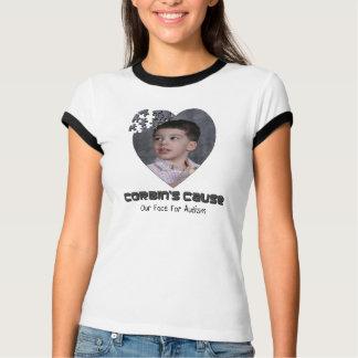 Corbin's Cause Women's tee