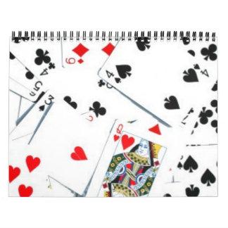 """Corbis's Array of Playing Cards"" Calender Calendar"