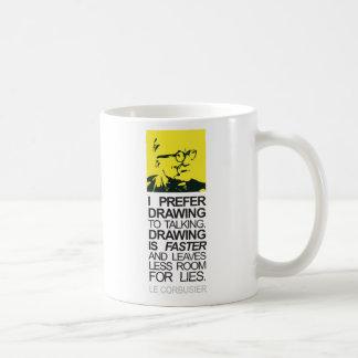 corbupop classic white coffee mug
