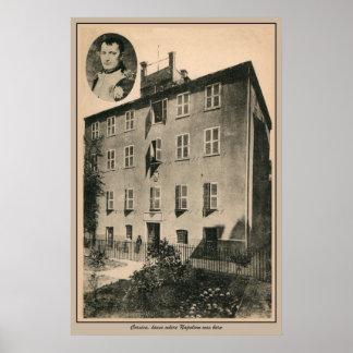 Córcega, lugar de nacimiento de Napoleon Posters