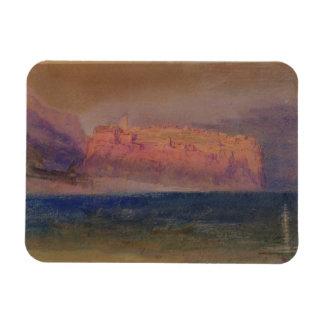 Córcega, (Mónaco?) c.1830-35 (w/c en el papel marr Imán Rectangular