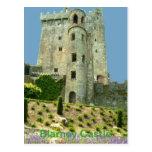 Corcho del condado del castillo de la lisonja postal