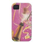 Corcho haciendo estallar en el champán durante la  Case-Mate iPhone 4 carcasa