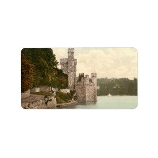Corcho Irlanda del castillo de Blackrock Etiquetas De Dirección
