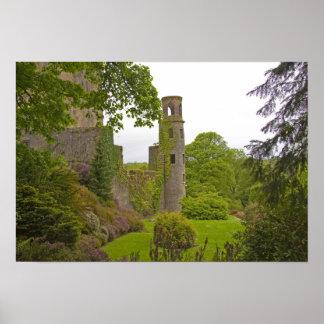 Corcho, Irlanda. El castillo infame 2 de la lisonj Posters