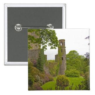Corcho, Irlanda. El castillo infame 2 de la lisonj Pin Cuadrada 5 Cm