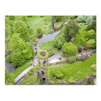 Corcho, Irlanda. El castillo infame de la lisonja Postal