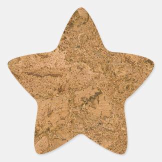 Corcho Colcomanias Forma De Estrellaes