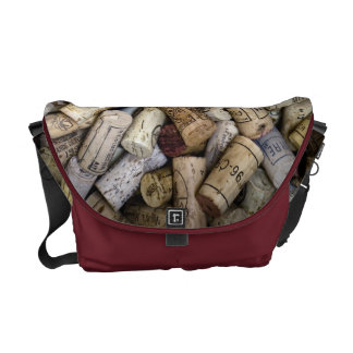 Corchos del vino fino bolsa de mensajeria