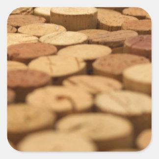 Corchos del vino etiquetas