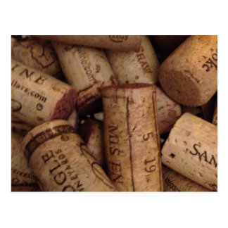 corchos del vino y del chamán postales
