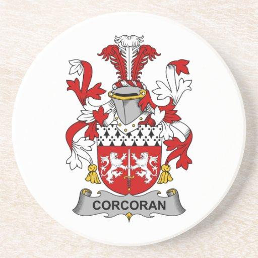 Corcoran Family Crest Coaster