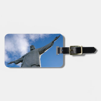 Corcovado Christ the Redeemer Statue Luggage Tag