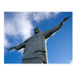 Corcovado Christ the Redeemer Statue Postcard