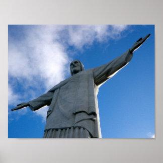 Corcovado Cristo el poster de la estatua del