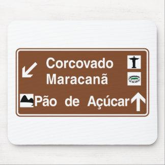 Corcovado/Maracana/Sugarloaf Mt, Brazil Mouse Pad