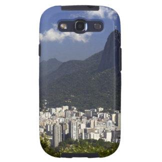 Corcovado que pasa por alto Río de Janeiro, el Bra Galaxy S3 Fundas