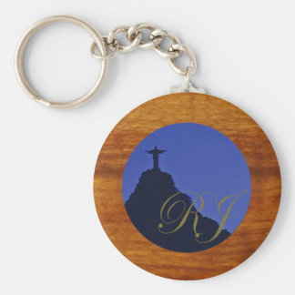 corcovado ~ Rio de Janeiro br Keychain