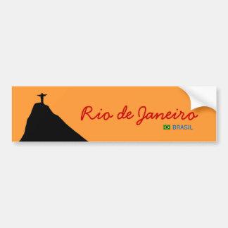 corcovado - RJ - brasil Bumper Sticker