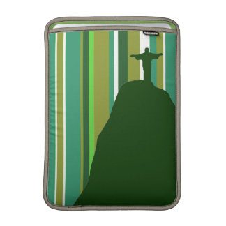 Corcovado RJ with stripes Sleeve For MacBook Air