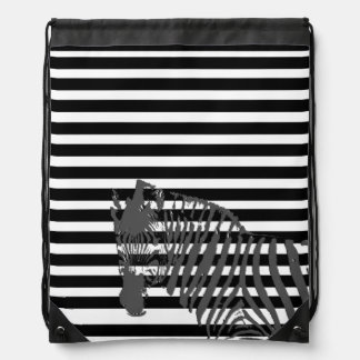 Cord rucksack Streaks Drawstring Bag