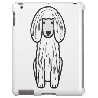 Corded Poodle Dog Cartoon