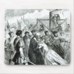 Cordelero de Margaret que toma licencia de su padr Tapete De Ratón