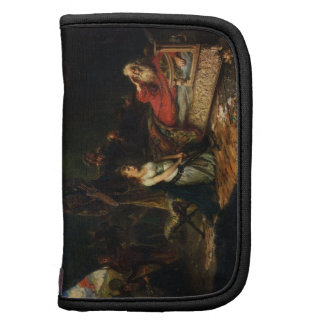 Cordelia and King Lear (oil on canvas) Organizers