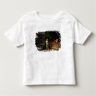 Cordelia and King Lear (oil on canvas) Toddler T-shirt