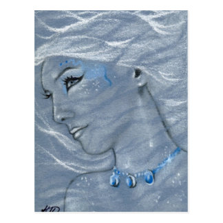 Cordelia Mermaid Postcard