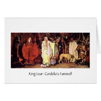 Cordelia's Farewell Card