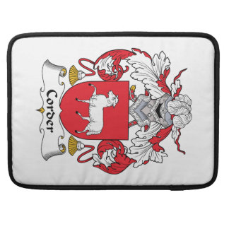 Corder Family Crest Sleeve For MacBook Pro
