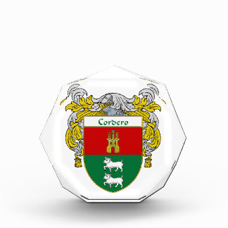 Cordero Coat of Arms Family Crest Awards