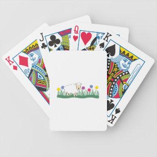 Cordero de la primavera barajas de cartas