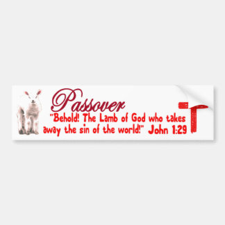 Cordero del Passover Pegatina Para Auto