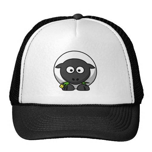 Cordero lindo del dibujo animado gorras