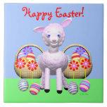 Cordero y cestas de Pascua Teja