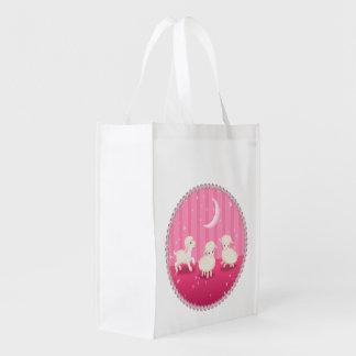 Corderos del bebé bolsa reutilizable