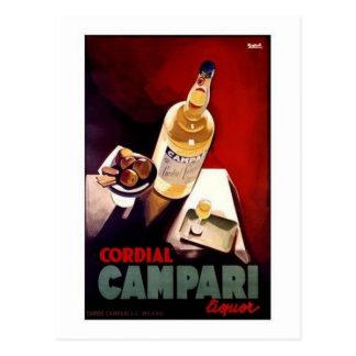 Cordial Campari Postcard