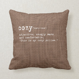 Cordial Collection - Cozy Pillow