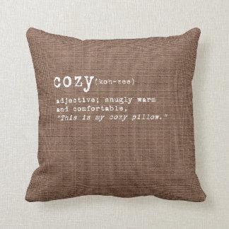 Cordial Collection - Cozy Throw Pillow