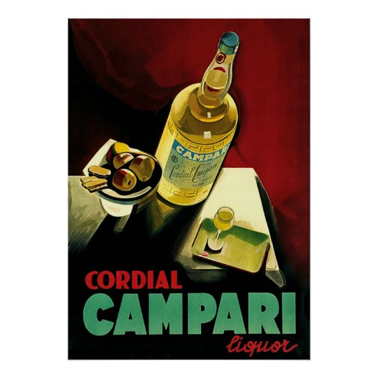 Cordial Liqour Vintage Alcohol Advertising Poster