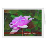 Cordial thanks greeting cards