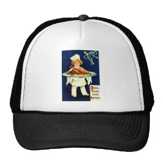 Cordial Thanksgiving Greetings Trucker Hat