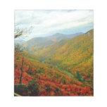 Cordillera azul de Ridge de Carolina del Norte Libretas Para Notas