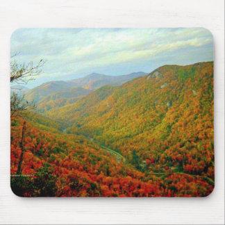 Cordillera azul de Ridge de Carolina del Norte Tapetes De Ratón