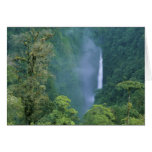 Cordillera Central, Angel Congo) Falls, many Greeting Card