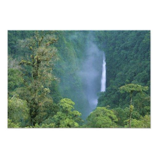 Cordillera Central, Angel Congo) Falls, many Photographic Print