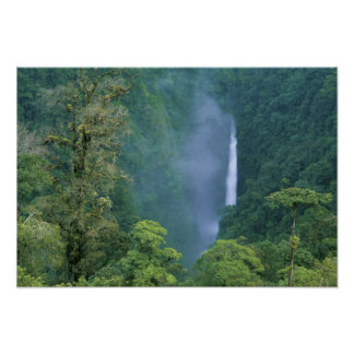 Cordillera Central, Angel Congo) Falls, many Poster