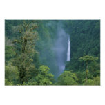 Cordillera Central, Angel Congo) Falls, many Poster